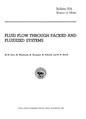 Primary view of object titled 'Fluid Flow Through Packed and Fluidized Systems'.
