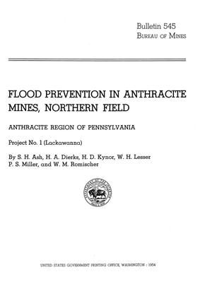 Primary view of object titled 'Flood Prevention in Anthracite Mines, Northern Field: Anthracite Region of Pennsylvania, Project Number 1 (Lackawanna)'.