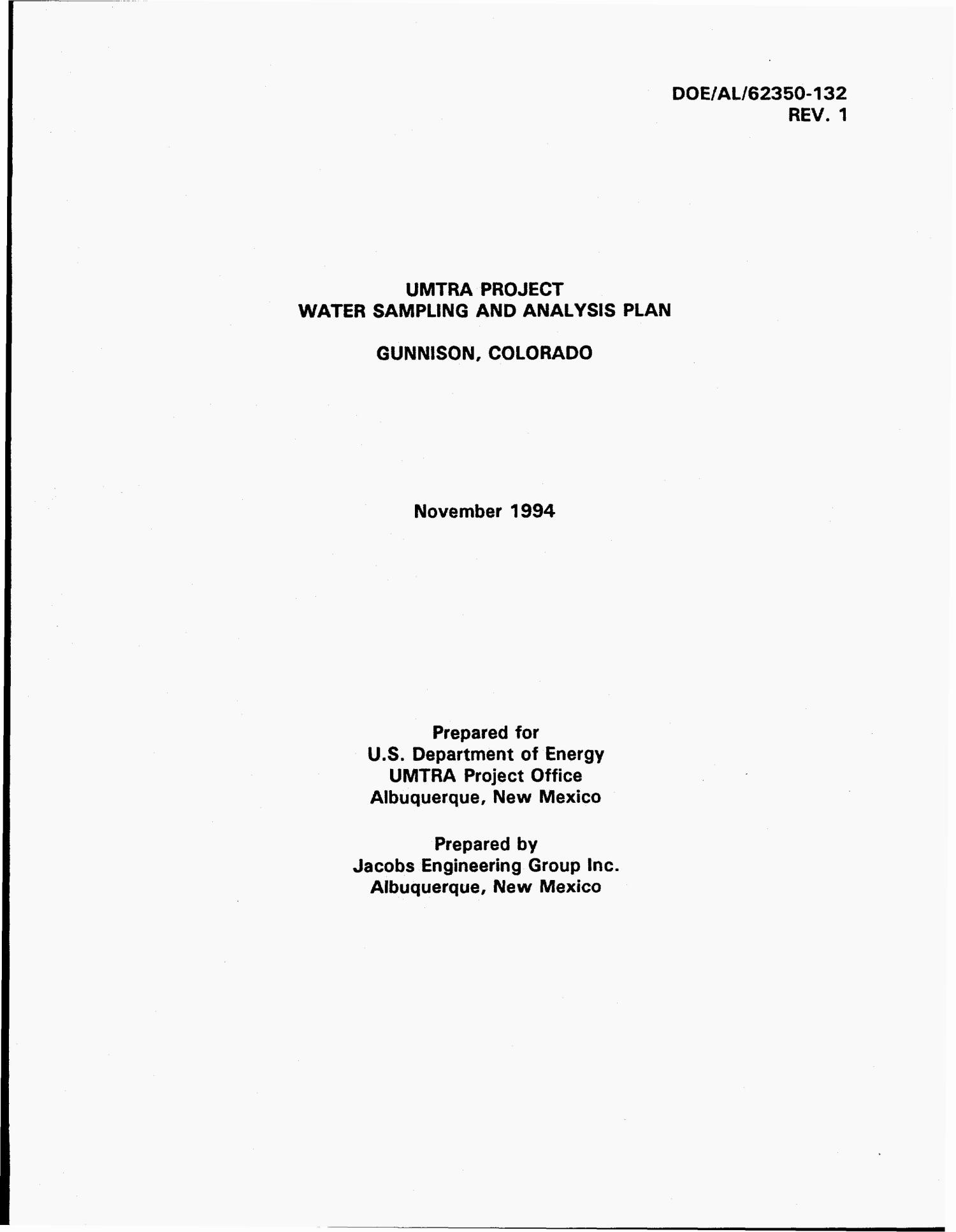 Umtra Project Water Sampling and Analysis Plan, Gunnison, Colorado: Revision 1                                                                                                      [Sequence #]: 4 of 72