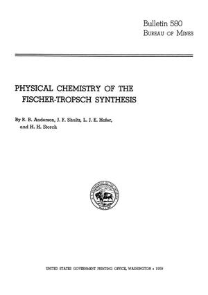 Primary view of object titled 'Physical Chemistry of the Fischer-Tropsch Synthesis'.