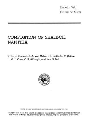Composition of Shale-Oil Naphtha