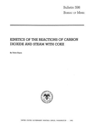 Primary view of object titled 'Kinetics of the Reactions of Carbon Dioxide and Steam with Coke'.