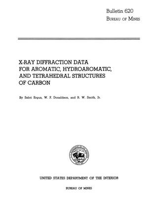 Primary view of object titled 'X-Ray Diffraction Data for Aromatic, Hydroaromatic, and Tetrahedral Structures of Carbon'.