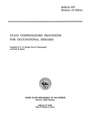 Primary view of object titled 'State Compensatory Provisions for Occupational Diseases'.