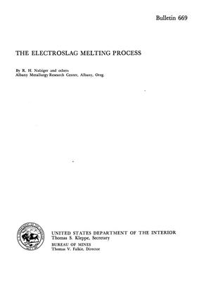 Primary view of object titled 'The Electroslag Melting Process'.