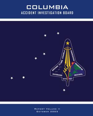 Primary view of object titled 'Columbia Accident Investigation Board Report: Volume 2. CAIB Technical Documents Cited in the Report'.