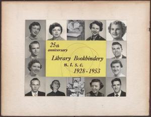 [NTSC Bookbindery Staff]