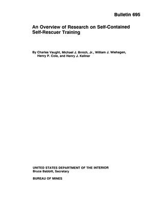 Primary view of object titled 'An Overview of Research on Self-Contained Self-Rescuer Training'.