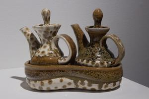 Primary view of object titled 'Oil and Vinegar Set'.