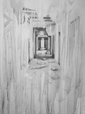 Primary view of object titled 'Hallway'.