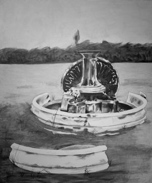 Primary view of object titled 'Fountain Study'.