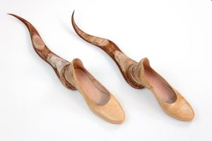 Primary view of object titled 'Tail Shoes'.