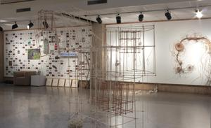 Primary view of object titled 'Graduate Students' Sculpture Exhibition'.