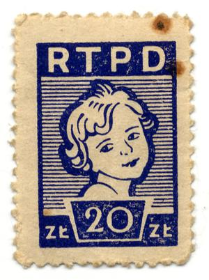 Primary view of object titled 'RTPD 20 zł'.