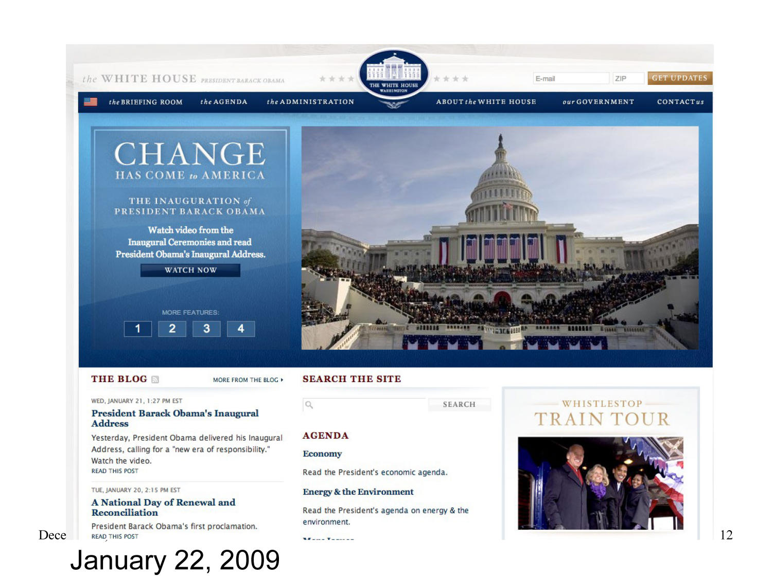 End of Term 2008 Presidential Web Archive: PDF Content Analysis                                                                                                      [Sequence #]: 12 of 104