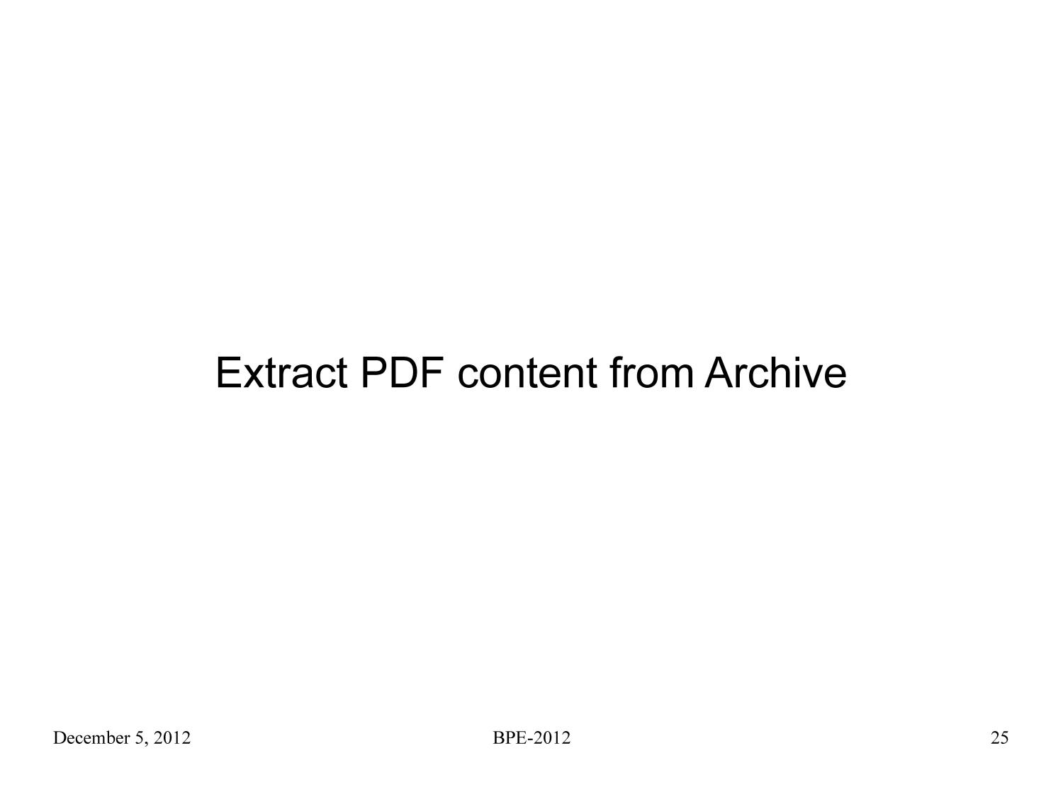 End of Term 2008 Presidential Web Archive: PDF Content Analysis                                                                                                      [Sequence #]: 25 of 104