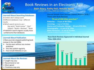 Book Reviews in an Electronic Age