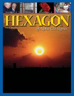 The Hexagon, Volume 103, Number 3, Fall 2012