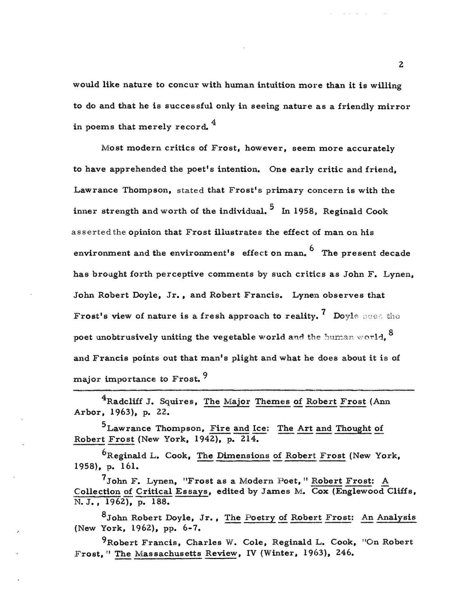 the poetic techniques used in robert frosts the telephone essay Themes in after apple picking english literature essay diction robert frost uses in after apple-picking develops the (poem: robert frost's after apple.