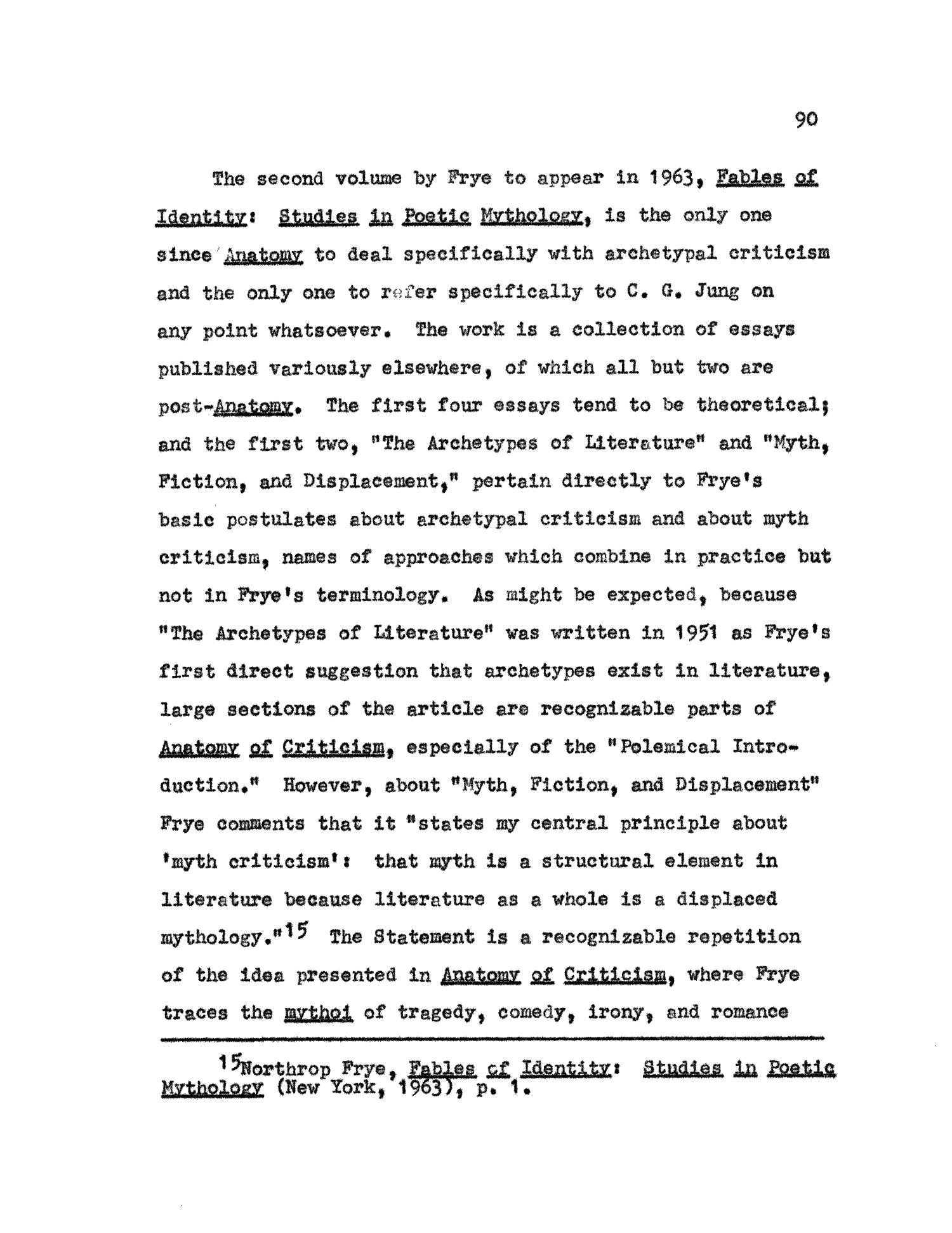 Jung\'s Archetypes in Northrop Frye\'s Archetypal Criticism - Page 90 ...
