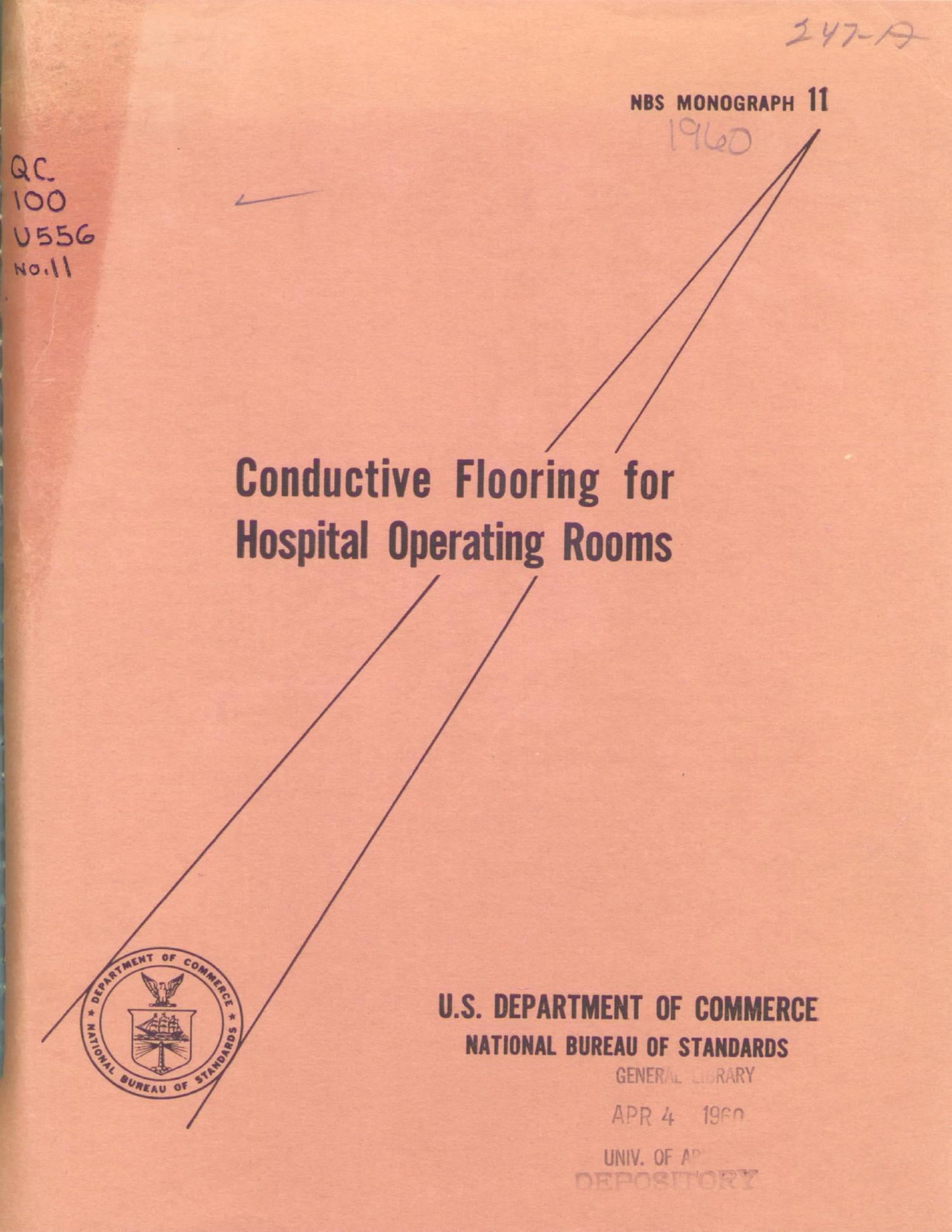 Conductive Flooring For Hospital Operating Rooms