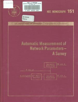 Primary view of object titled 'Automatic Measurement of Network Parameters: A Survey'.