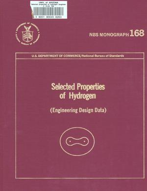Selected Properties of Hydrogen (Engineering Design Data)