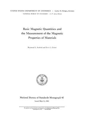 Basic magnetic quantities and the measurement of the magnetic thumbnail image of item number 3 in basic magnetic quantities and the measurement of sciox Gallery