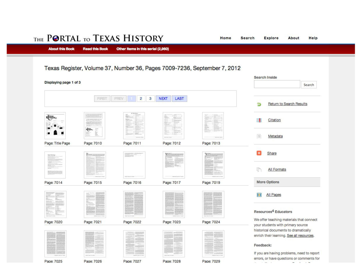 The Portal to Texas History: Technology Overview                                                                                                      [Sequence #]: 19 of 73