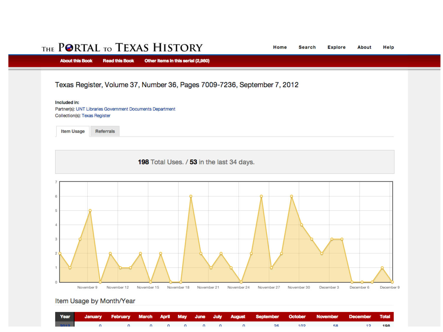 The Portal to Texas History: Technology Overview                                                                                                      [Sequence #]: 26 of 73
