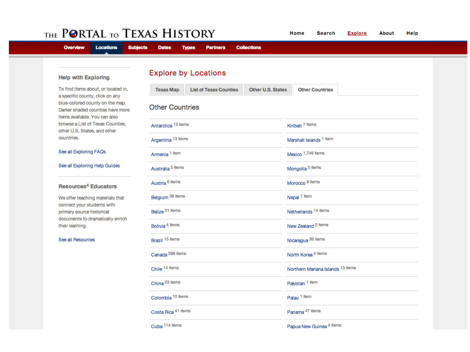 The Portal to Texas History: Technology Overview                                                                                                      [Sequence #]: 46 of 73