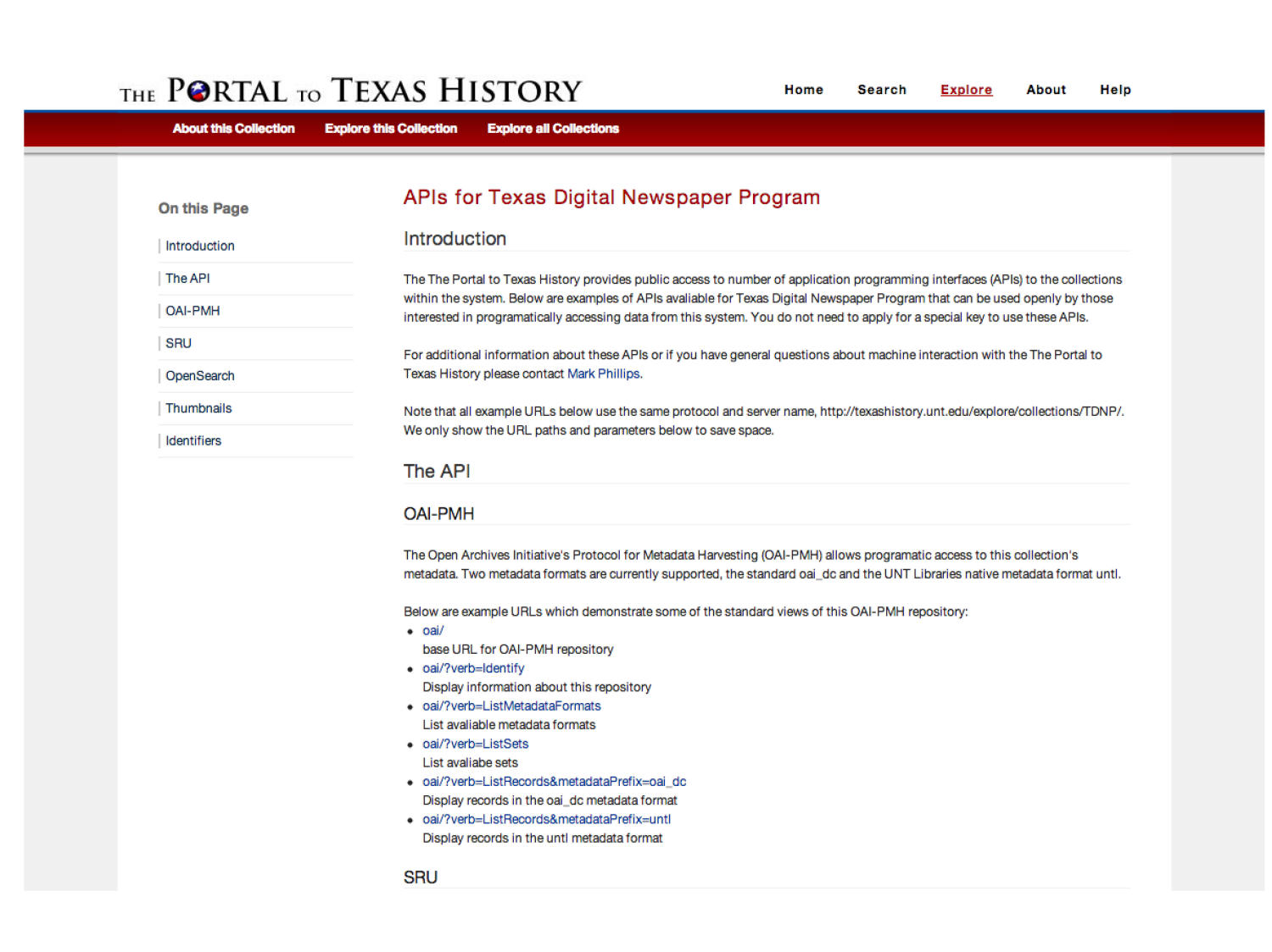 The Portal to Texas History: Technology Overview                                                                                                      [Sequence #]: 57 of 73