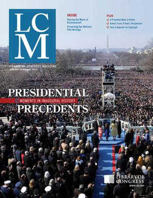 Library of Congress Magazine (LCM), Vol. 2 No. 1: January-February 2013
