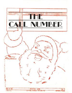 The Call Number, Volume 12, Number 3, December 1950