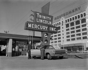 Primary view of [Photo of group at Trinity Lincoln Mercury Inc.]
