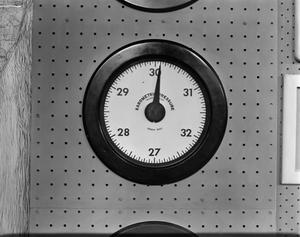 Primary view of [Weather dial 2 - barometric pressure]