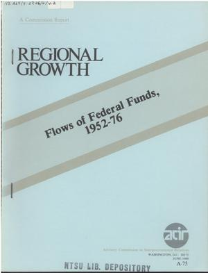 Flows of Federal funds, 1952-76
