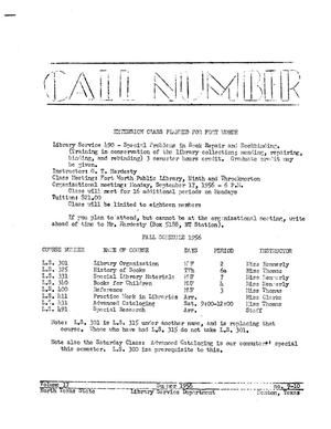 Primary view of object titled 'The Call Number, Volume 17, Numbers 9-10, Summer 1956'.