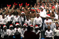Thumbnail image of item number 1 in: '[Christmas/Kwanzaa Concert Photograph UNTA_AR0797-147-045-0013]'.