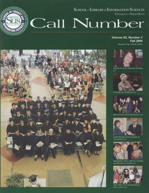 Call Number, Volume 63, Number 2, Fall 2004