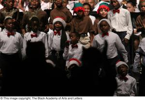 Primary view of object titled '[Christmas/Kwanzaa Concert Photograph UNTA_AR0797-147-045-0017]'.