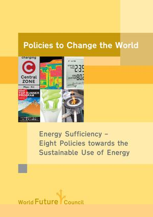 Primary view of object titled 'Policies to Change the World: Energy Sufficiency - Eight Policies towards the Sustainable Use of Energy'.