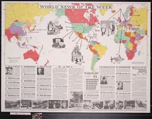 World news of the week, Monday, Dec. 30, 1940, volume 3, no. 17.
