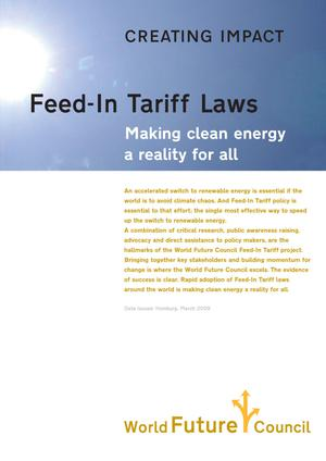 Primary view of object titled 'Creating Impact - Feed-In Tariff Laws: Making clean energy a reality for all'.
