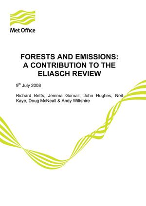 Forests and Emissions: A contribution to the Eliasch Review