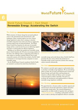 Renewable Energy: Accelerating the Switch
