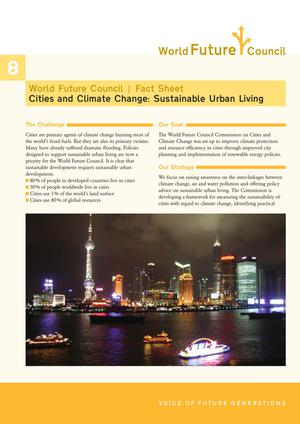 Primary view of object titled 'Cities and Climate Change: Sustainable Urban Living'.