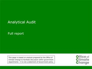 Primary view of object titled 'Analytical Audit: Full Report'.