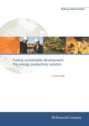 Primary view of object titled 'Fueling sustainable development: The energy productivity solution'.