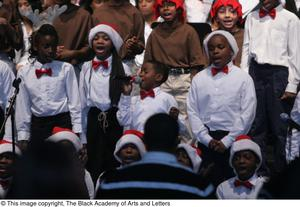 Primary view of object titled '[Christmas/Kwanzaa Concert Photograph UNTA_AR0797-147-045-0022]'.